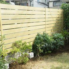 目隠しフェンス 施工事例 | グリーンケア|お庭のデザイン&リフォーム