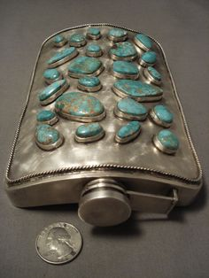 If you are interested in viewing attractive stones and related items, turquoise jewelry is sure to grab your interest. Vintage Turquoise, Coral Turquoise, Vintage Silver, Ethnic Jewelry, Turquoise Jewelry, Navajo, American Indian Jewelry, Southwest Jewelry, Le Far West