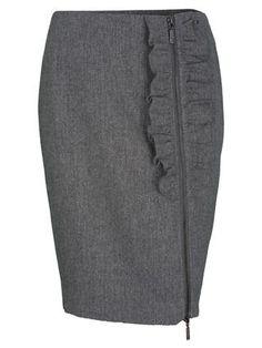 Красивая прямая юбка
