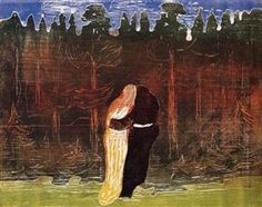 Towards the Forest II - Edvard Munch