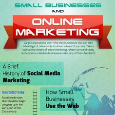 Since the early days of the social web (think Myspace & Friendster), small business owners have done their best to leverage the Internet & it's business potential. While the majority are getting savvier about Internet marketing, some small business owners still struggle to have an online presence whatsoever.  Here's a comprehensive look at the history of Internet Marketing, including the past history, the present methods, and the future tactics that may pay dividends for small business own...