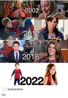 I'm usually hella picky with casting, but the new Spider-Man is adorable and looks his age and even though aunt Mae isn't the right age she's pretty decent.