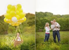 St. Louis family portrait photographer, Yvonne Niemann, captures a family for their Spring photo session among yellow wild flowers.