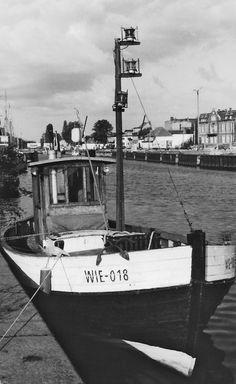 Museumshafen #Greifswald zu Beginn der 90ger Jahre