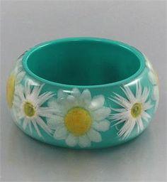 Turquoise bangle bracelet...$20.00