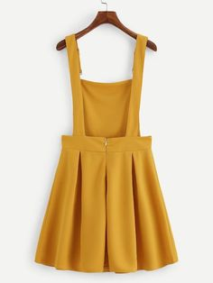 Shop Pleated Zip Up Back Pinafore Dress online. SheIn offers Pleated Zip Up Back. - - Shop Pleated Zip Up Back Pinafore Dress online. SheIn offers Pleated Zip Up Back Pinafore Dress & more to fit your fashionable needs. Source by Belted Shirt Dress, Tee Dress, Pinafore Dress Pattern, Pinafore Dress Outfit, Vetement Fashion, Mein Style, Overall Dress, Cute Casual Outfits, Summer Outfits