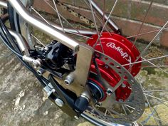 Rohloff Speedhub and disc brake on a Brompton (Kinetics)