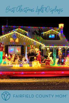 Best Christmas Light Displays, Best Christmas Lights, Christmas Diy, Christmas Decorations, Holiday, Local Moms, Fairfield County, Christmas Inspiration, Work Hard
