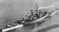 USS Alaska - a counter to the German 'pocket battleships', these ships mounted 12 in guns: only two were completed (USS Guam was the other), and they saw service in the last year of WW2.  Though a reprise of the battlecruiser concept, this term was discouraged in favour of 'large cruisers'.