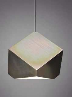 Axial pendant light by Bec Brittain