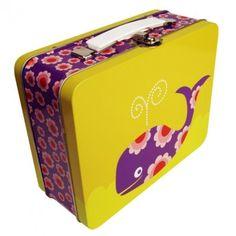 Whale Tin Suitcase