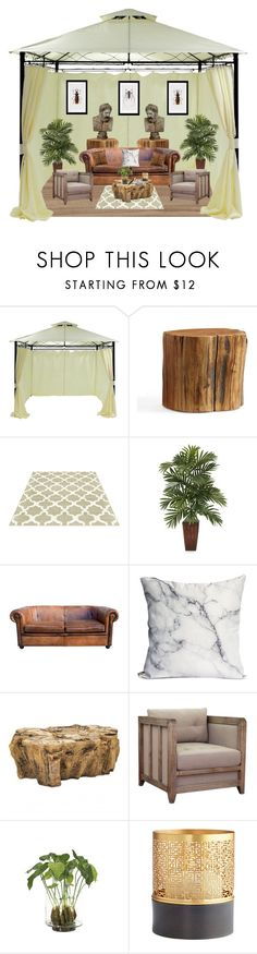 """""""In the Olympian Oasis"""" by marcusv ❤ liked on Polyvore featuring interior, interiors, interior design, home, home decor, interior decorating, BoConcept, Pottery Barn, I Love Living and NDI"""