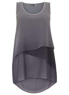 Grey Ombre Layer Tunic   New in   MintVelvet #MintVelvet #SS15 #MVSS15