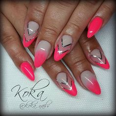 Instagram photo by @koka_nails via ink361.com