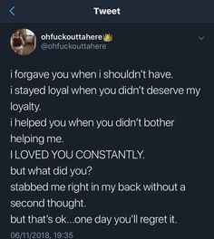 Quotes Deep Feelings, Hurt Quotes, Real Life Quotes, Mood Quotes, Relationship Quotes, In My Feelings, Relationships, Funny Quotes, Twitter Quotes