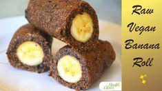 Raw Vegan Banana Roll