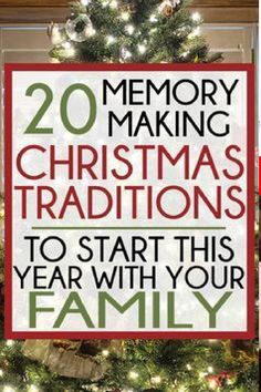 Fun Christmas Traditions for 2020
