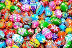 Tradycyjne wielkanocne pisanki. Fot. Shutterstock.