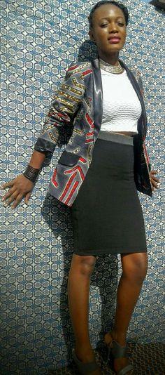 Waist Skirt, High Waisted Skirt, Good Music, Four Square, Creations, Skirts, Fashion, Jacket, Moda