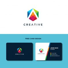 Letter A With Hexagonal Logo Design Template Logo Design Template, Flyer Design, Tutoring Flyer, Modern Business Cards, Creative Logo, Business Flyer, Packaging Design, Vector Free, Templates