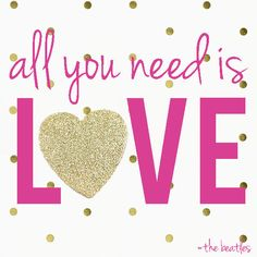 All You Need is Love...The Beatles love flowers heart animated romantic love quote romance gif i love you sweetheart romance movies valentine's day movie quotes red rose valentine