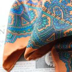 Pocket Square Apollonie mustard - Handcrafted in northern Ireland