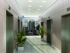 DIA LED defines what lighting users and specifiers value most: generous and comfortable brightness; Energy Efficiency, Flexibility, Bright, Cleaning, Led, Hallways, Lighting, Gallery, Plants