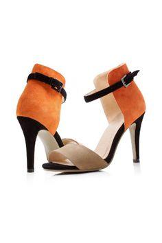5a2826e31fdd Color Block Open- toe Sandals - Shoes Open Toe Sandals