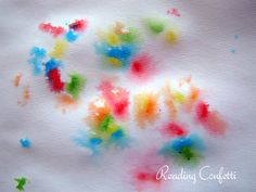Sprinkle Fireworks Toddler Craft