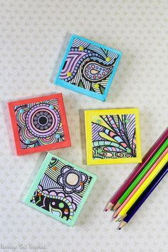 21 things to make with adult coloring pages - if you saved your colorring that…