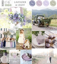 Lavender & Light Inspiration Board