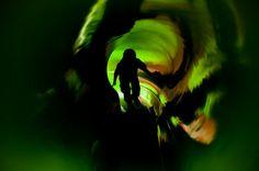 tunnel Northern Lights, Abstract, Nature, Photography, Travel, Art, Summary, Art Background, Naturaleza