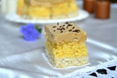 Prajitura sultanului   MiremircMiremirc Krispie Treats, Rice Krispies, Cloud Bread, Coco, Cake Recipes, Cheesecake, Desserts, Tailgate Desserts, Deserts