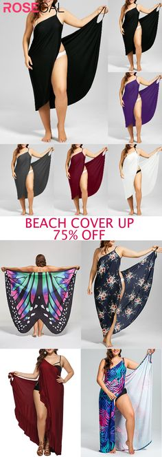 Rosegal simple plus size beach cover up Plus Size Wrap Dress for swimming surfing bathing suit Rosegal simple plus size beach cover up Plus Size Wrap Dress for swimming surfing bathing suit Cute Lazy Outfits, Cool Outfits, Casual Outfits, Summer Outfits, Fashion Outfits, Plus Size Summer Fashion, Swimwear Cover Ups, Swimsuit Cover, Plus Size Swimsuits