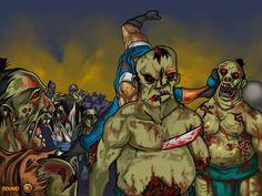 Regresa la parte 2 de este juego donde los Ninjas son los encargados de eliminar a los Zombies, con tu espada tienes que eliminarlos y también poder de lanzar shuriken, la habilidad en la peleas te ayudara.