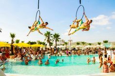Ibiza June '12 and July '13. Ocean Beach Club