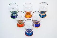 Dansk Spectra Cocktail Glasses Set | eBay Set of 14 glasses martini, shot and beer types