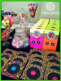 Related image 70s Party, Retro Party, Neon Party, Hippie Birthday, Hippie Party, Disco Party Decorations, 70th Birthday Parties, Disco Birthday Party, Rock Star Party