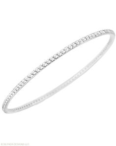#Sparkle that goes 'round and 'round! Our Perfection #Bangle is the perfect accessory! #WomensFashion