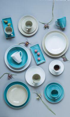 MESH fra Rosenthal er et nytt mix & match konsept i våre butikker. Bland ulike former og farger, og skap ditt eget servise i Rosenthals umiskjennelige, gode kvalitet. Du finner utvalget i din Designforevig-butikk!