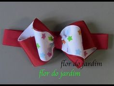 Бант из репсовой ленты МК/ Bow grosgrain ribbon DIY/ PAP Arco fita do grosgrain Tutorial Ribbon Hair Clips, Diy Hair Bows, Diy Bow, Diy Ribbon, Ribbon Crafts, Ribbon Bows, Ribbons, Kanzashi Tutorial, Hair Bow Tutorial