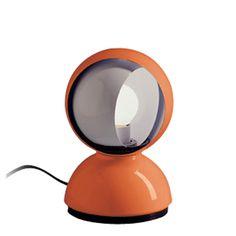 vico magistretti: #orange eclisse table lamp