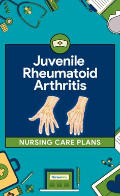Nursing care planning goals for a child with juvenile rheumatoid arthritis aims to provide relief of pain, improve coping ability Here are four nursing care plans (NCP) for juvenile rheumatoid arthritis (JRA). Pediatric Registered Nurse, Pediatric Nurse Practitioner, Nurse Practitioner Programs, Pediatric Nursing, Nursing Schools Near Me, Online Nursing Schools, Medical Surgical Nursing, Nursing Diagnosis, Nursing Assessment