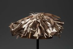 Hat, African, Kuba peoples, Democratic Republic of the Congo, 1950–2000.