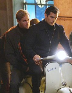 It was a truly special moment and now we are all experiencing it together. | Armie Hammer And Henry Cavill Rode A Scooter Together