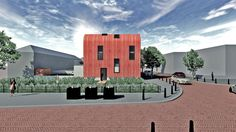 Design of a sustainable rowhouse in The Netherlands. #architecture #zelfbouw #Architectuur #ontwerper #architect #mimar #wonen #interieurontwerp