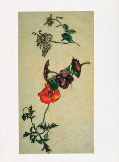 Inky Leaves: Egon Schiele's Botanical Drawings