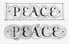 typography by Seb Lester. Inspiration drawn from our rich heritage of letterforms in the West. The 'making of' Vimeo clip of this print is also worth a visit.