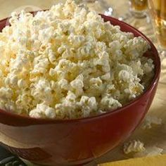 Popcorn na słodko @ allrecipes.pl