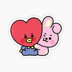 High quality Babies gifts and merchandise. Inspired designs on t-shirts, posters, stickers, home decor, and more by independent artists and designers from around the world. Pop Stickers, Tumblr Stickers, Printable Stickers, Overlays, Sticker Printer, Hello Kitty Gifts, Bts Christmas, Kpop Logos, Kpop Diy